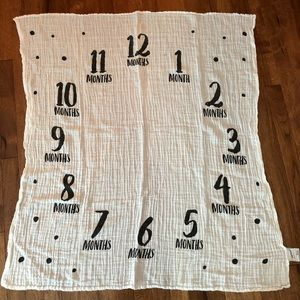 Baby monthly milestone blanket by Pearhead